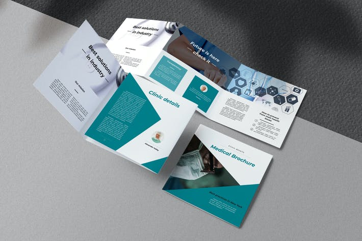 Thumbnail for Health Care Square Trifold