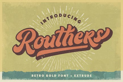 Routhers Retro + Extrude
