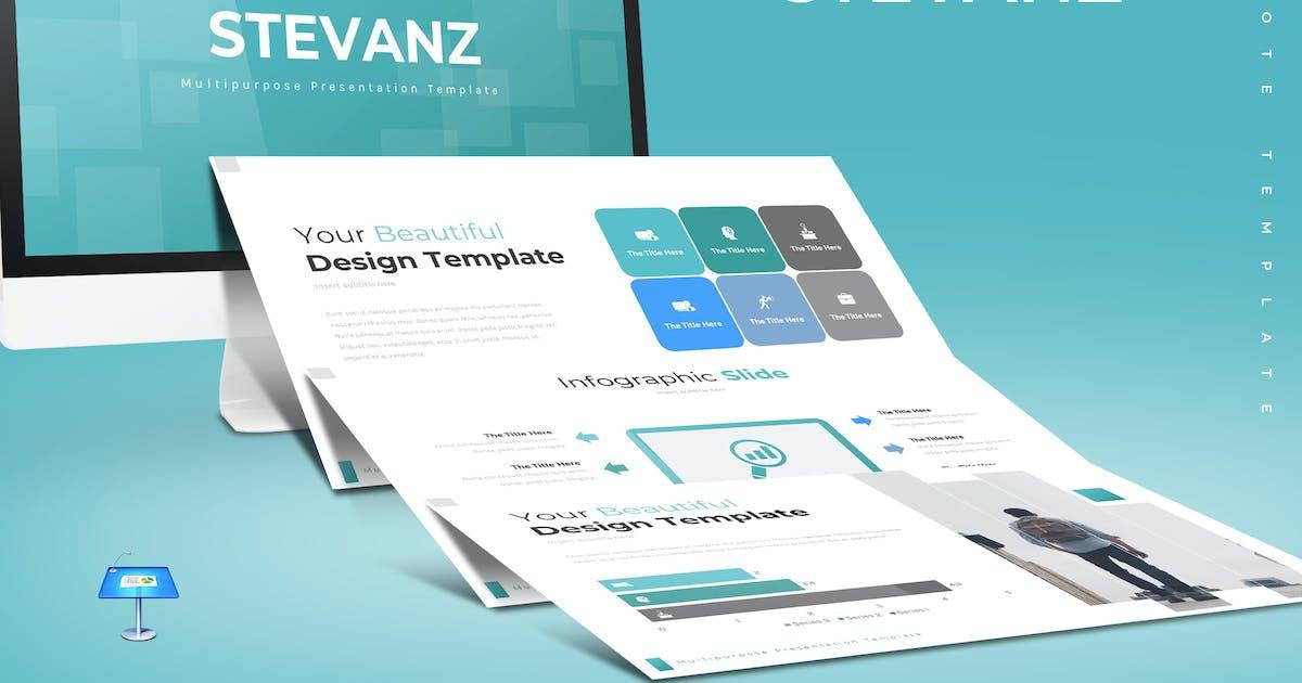 Download Stevanz - Keynote Template by aqrstudio