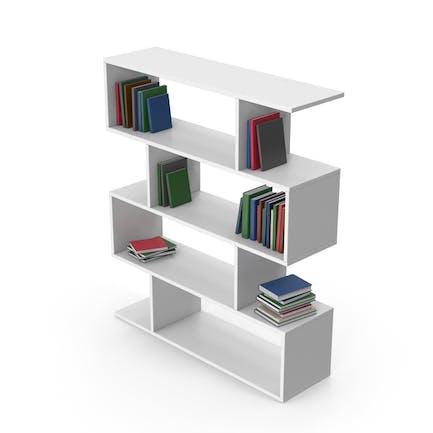 Estuche libro blanco con libros