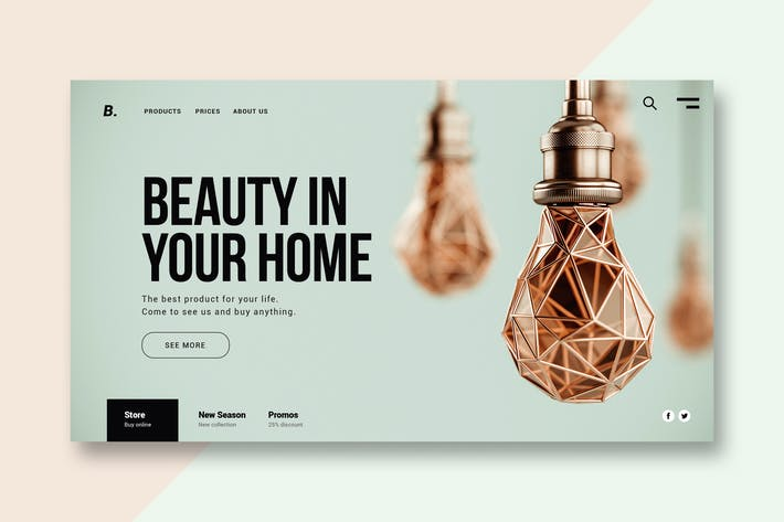 Thumbnail for Home & Furniture - Landing Page