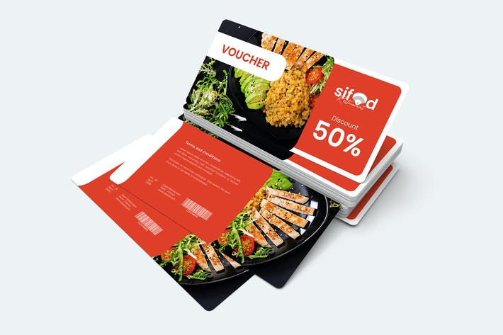 Thumbnail for Food Gift Voucher Card