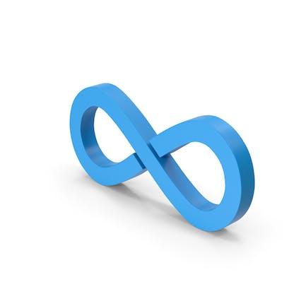 Symbol Infinity Blue