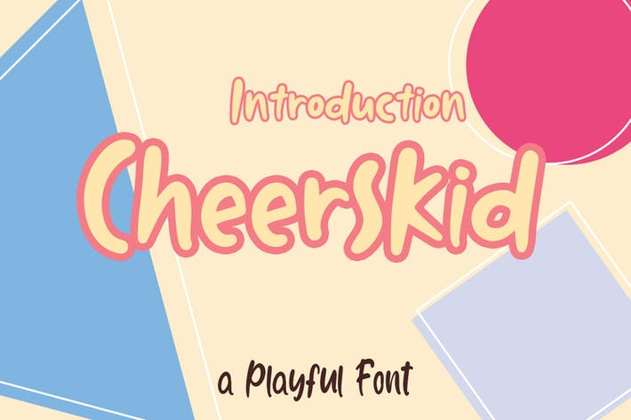 Thumbnail for Cheerskid Font