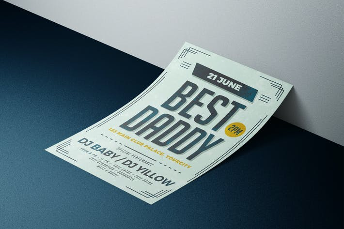 Thumbnail for Best Daddy Flyer