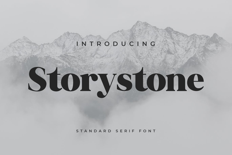 Storystone-Serif-Font