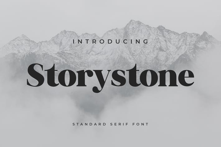 Thumbnail for Storystone Serif Font
