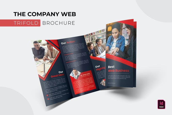 Thumbnail for Company Web   Trifold Brochure