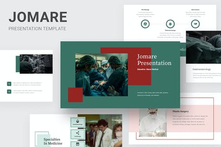 Jomare - Education About Medical Google Slides