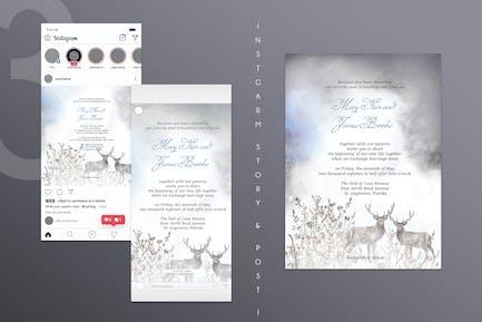 Fantasy Wedding Invitation Card