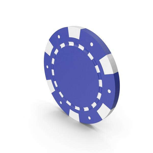 Thumbnail for Blue Poker Token