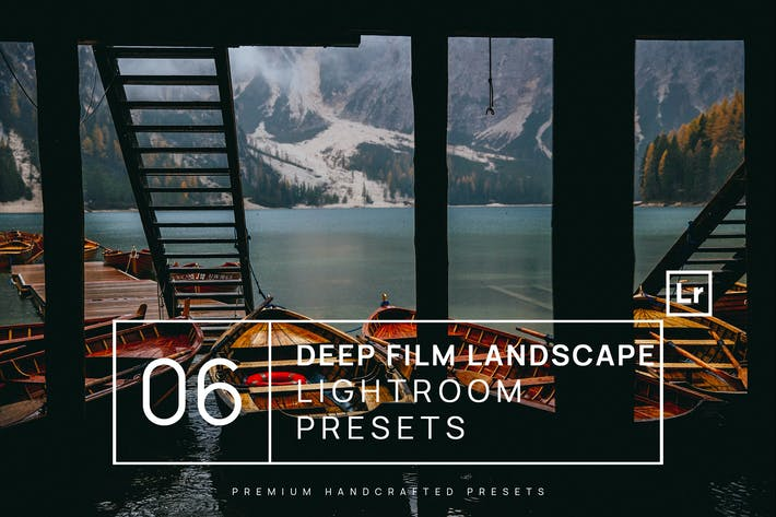 Thumbnail for 6 Deep Film Landscape Lightroom Presets + Mobile