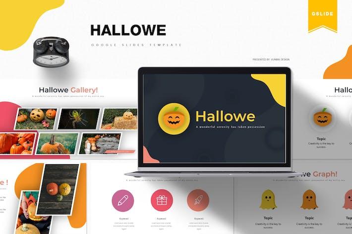 Thumbnail for Hallowe | Google Slides Template