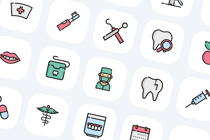 Thumbnail for 30 Dentist Icons