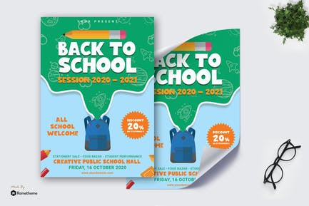 Back To School Poster vol.01 TY