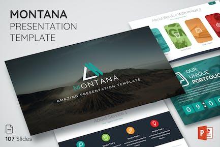 Montana - Multipurpose Presentation Template