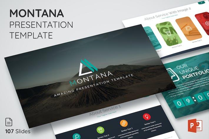 Thumbnail for Montana - Multipurpose Presentation Template