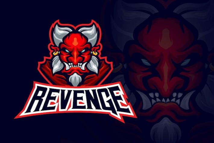 Thumbnail for Evil Japanese Demon Esport Logo