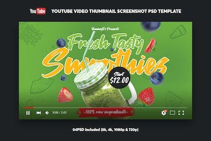 Smoothies YouTube Video Thumbnail Screenshot