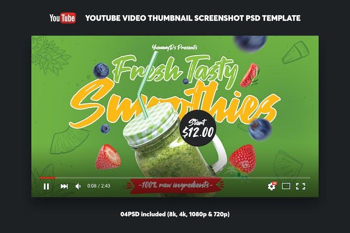 Thumbnail for Smoothies YouTube Video Thumbnail Screenshot