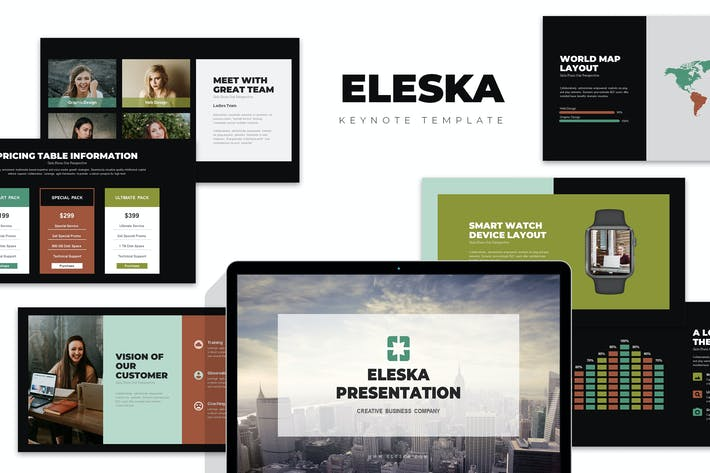 Thumbnail for Eleska: Sales & Marketing Pitch Keynote