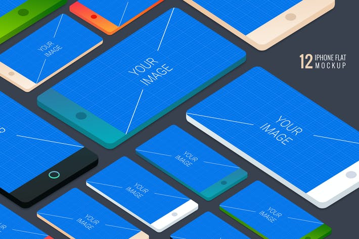 Cover Image For iPhone Mockups - Ground Styles