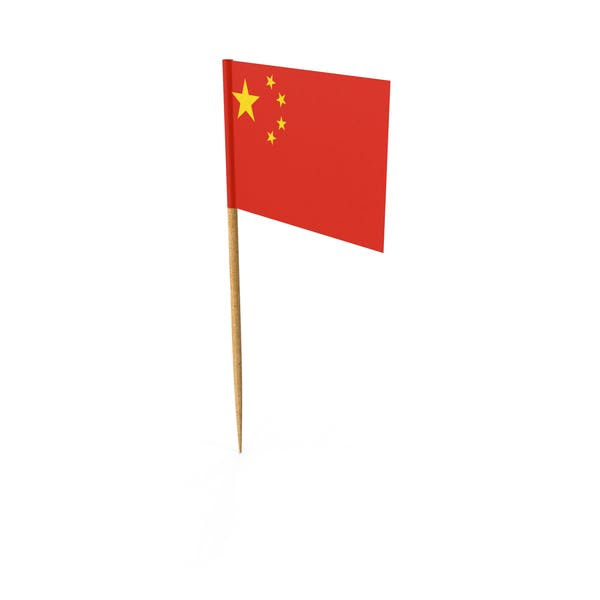 Thumbnail for Toothpick Chinese Flag