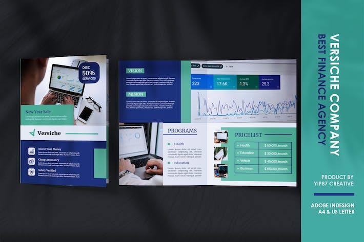 Thumbnail for Finance - Investissement des entreprises Brochure bifold