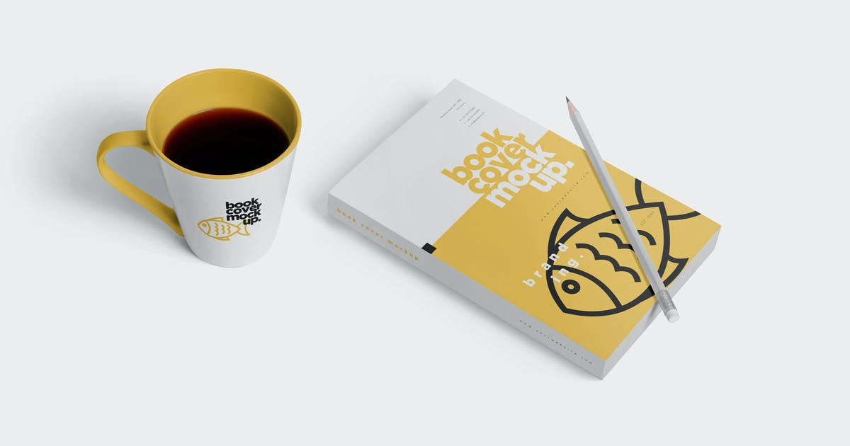 Download Realistic Book Cover Mockups by GfxFoundry