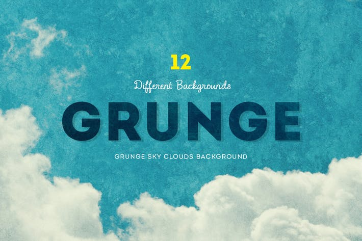 Thumbnail for Grunge Sky Clouds Backgrounds