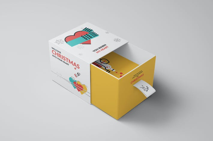 Cover Image For Package Box Mock-ups Vol10