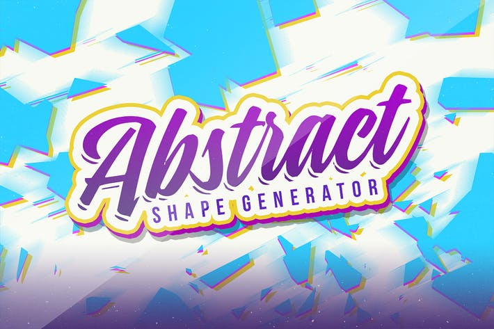 Thumbnail for Abstract Vector Shape Generator