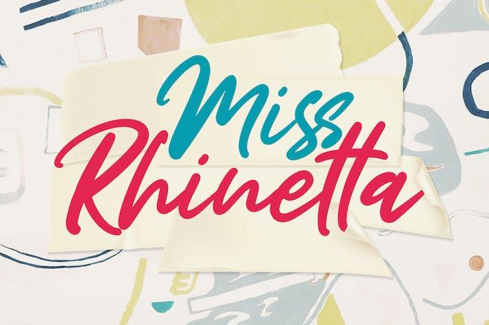 Mlle Rhinetta