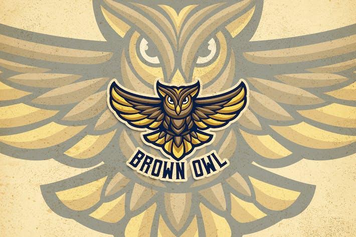 Thumbnail for Brown Owl Logo
