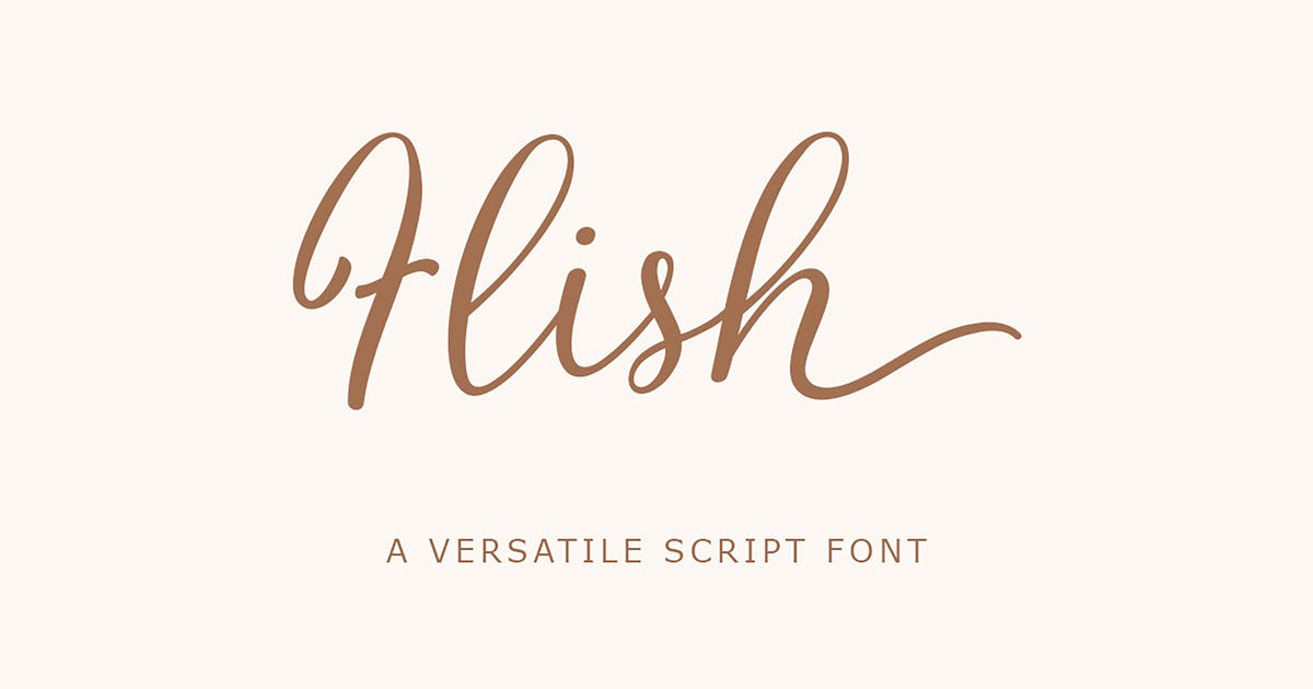 Download Flish Script by Siwox