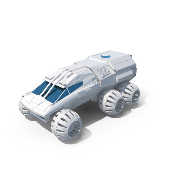 Thumbnail for NASA White Mars Rover