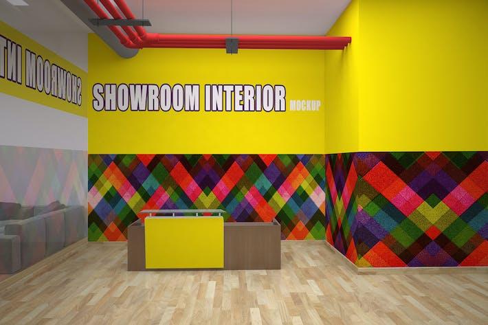 Thumbnail for Showroom Interior Mockup