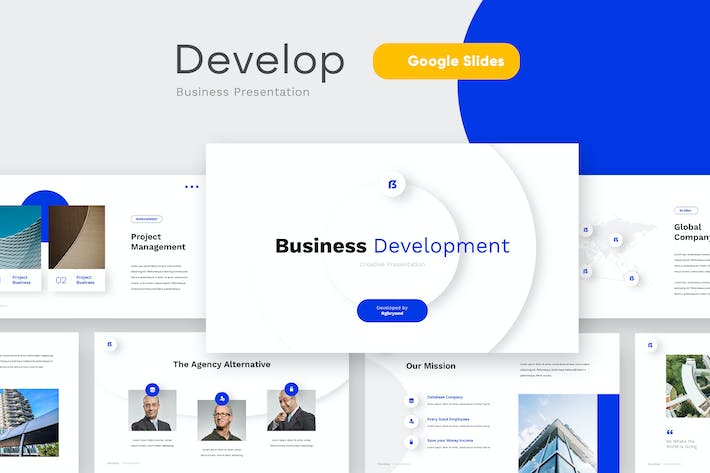 Thumbnail for DEVELOP - Business Google Slides Template