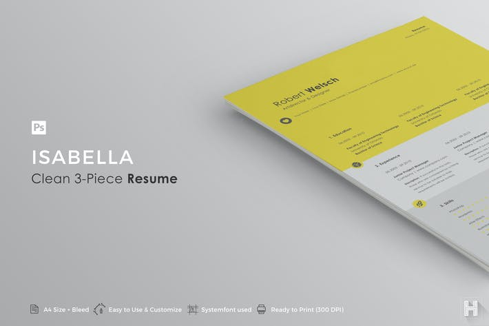 Thumbnail for Resume | Isabella