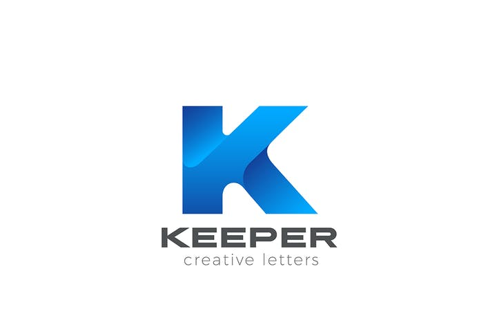 Thumbnail for Letter K Logo Corporate Technology Business style