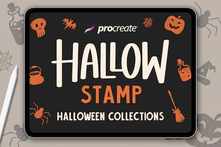 Hallow Stamp - Procreate Brush