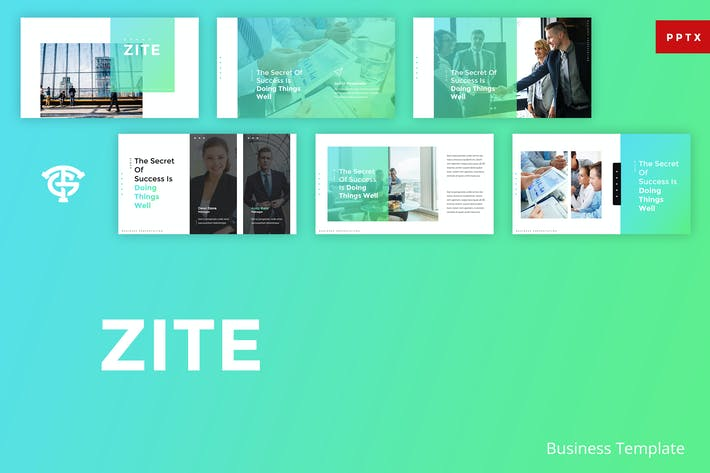 Thumbnail for Zite Business - Powerpoint