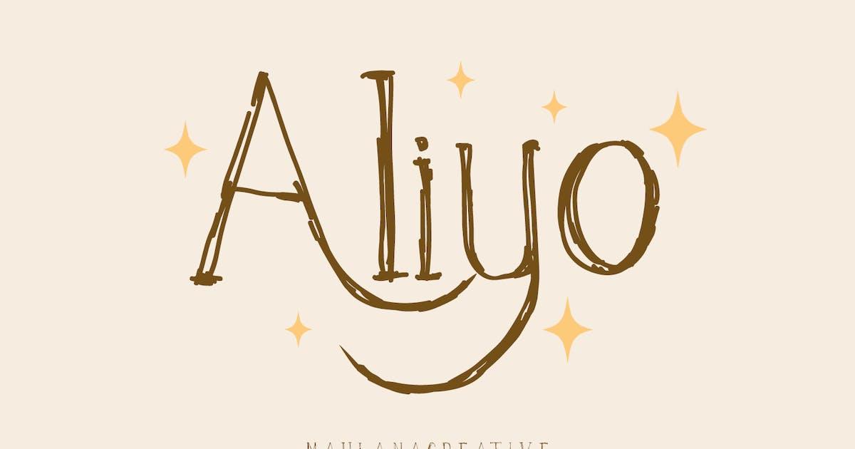 Download Aliyo Handwritten Font by maulanacreative