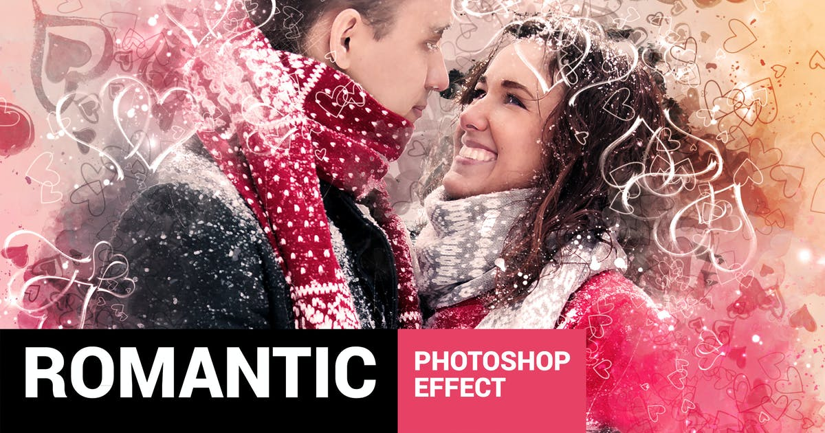 Download Valentinum - Sweethearts Photoshop Action by profactions