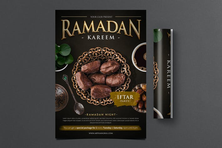 Thumbnail for Ramadan Kareem Flyer 2