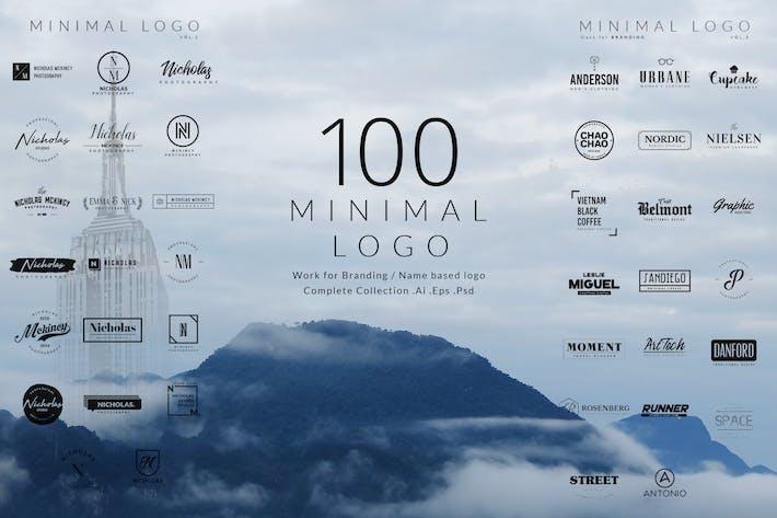Thumbnail for 100 Logotipos Minimalista