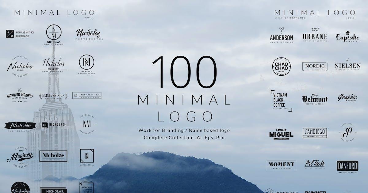 Download 100 Minimal logos by BNIMIT
