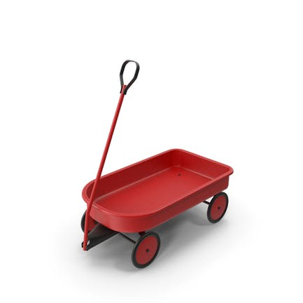 Delivery Toy Wagon Vintage