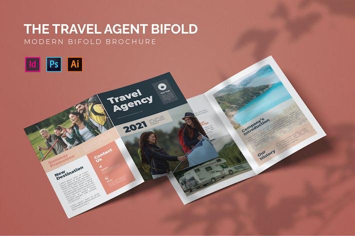 Reisebüro - Bifold Broschüre