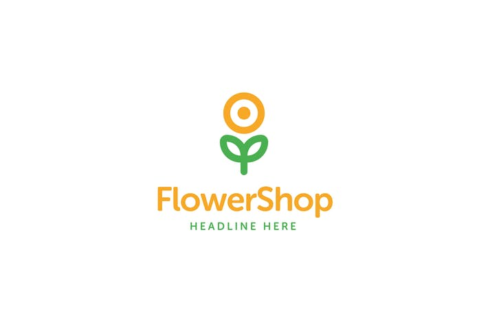 Thumbnail for Flower Shop Logo Template